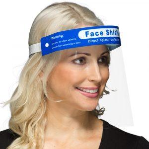 Woman wearing FS20C Face Shield PPE